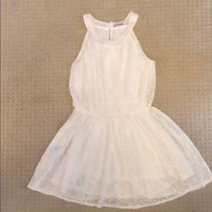 Mayoral white Lacey dress.